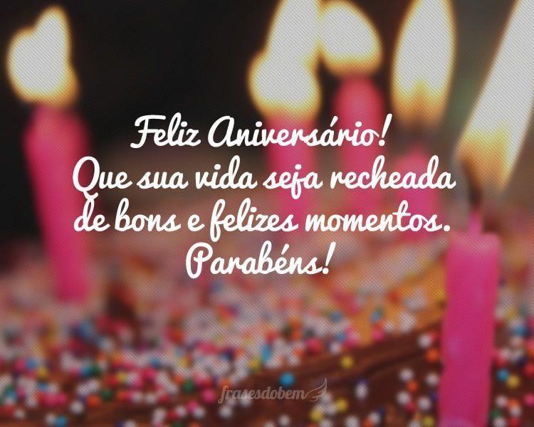 Feliz Aniversário de amigos
