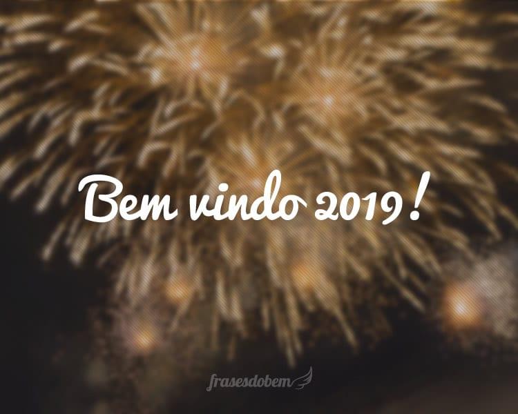 Bem vindo 2019!
