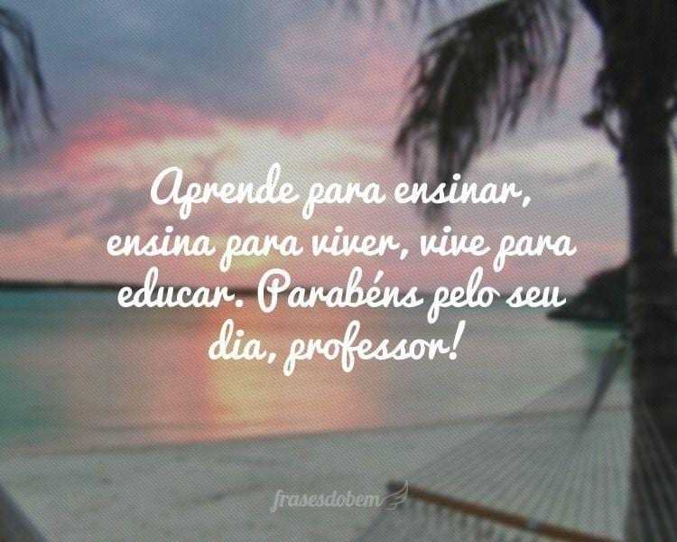 Frases De Dia Do Professor