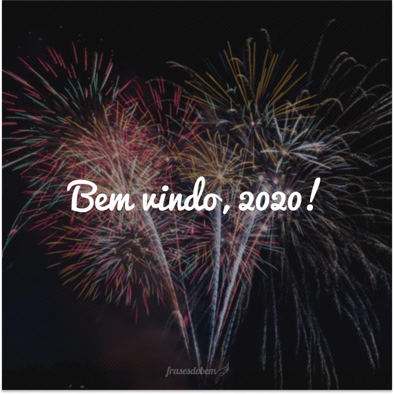 Bem vindo, 2020!