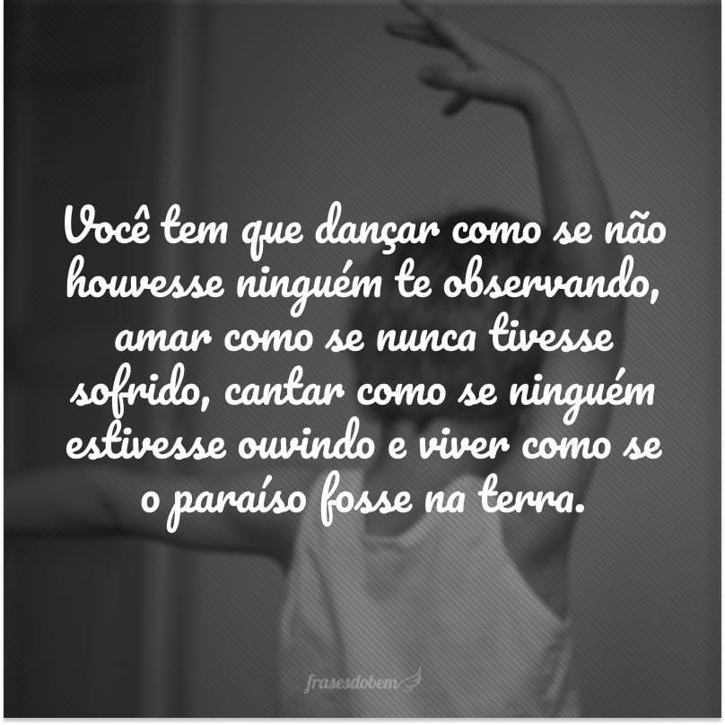 50 Frases De Dança Para Quem Adora Estar Com O Corpo Em