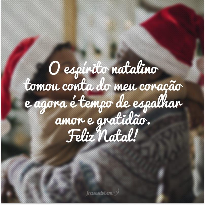 O espírito natalino tomou conta do meu coração e agora é tempo de espalhar amor e gratidão. Feliz Natal!
