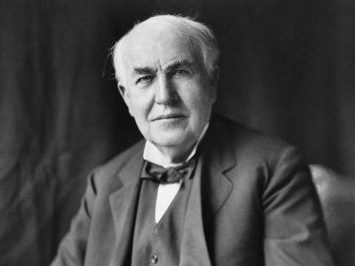 30 frases de Thomas Edison que te farão fã desse grande empresário
